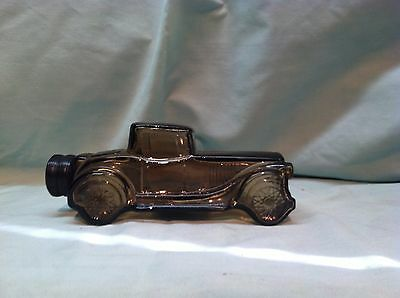 Avon Vintage Car Cologne Empty Decanter Sterling Six Aftershave