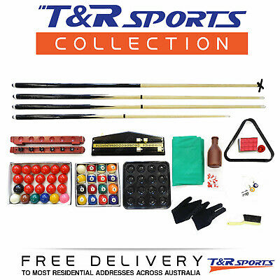 Full Snooker Pool Accessories Kit Sale 60% Off Free Syd Mel Bne Delivery