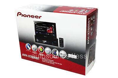 "NEW Pioneer AVH-X7800BT DVD/CD/MP3 Player 7"" Flip Up LCD Bluetooth Siris Eyes"