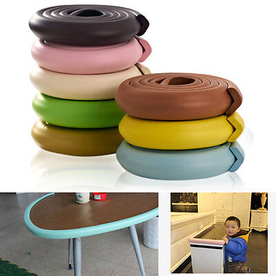 Baby Soft Corner Protector Bumper Table Cushion Strip Chic Safety Desk Edge LY1S