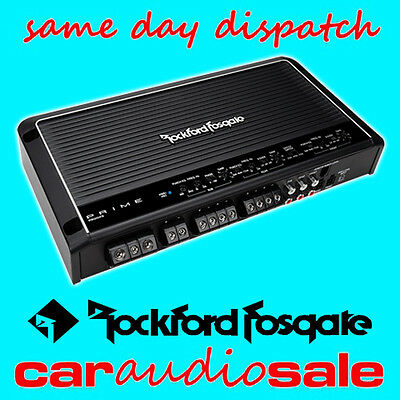 Rockford Fosgate Prime R600X5 600 Watt 5 Channel Speaker + Sub Power Amplifier