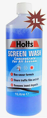 Holts Screen Wash All Seasons Concentrated 1 Litre Fluid Non-Smear