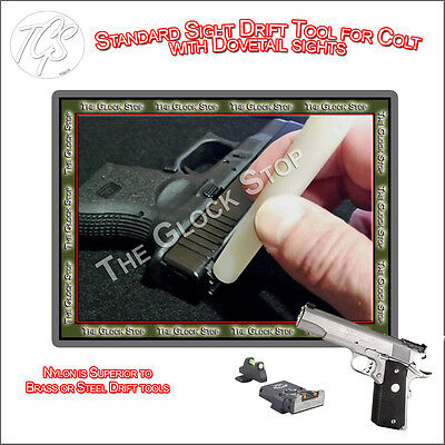 NEW Sight PUSHER Drift Punch Tool for SIG SAUER Nylon 226 229 238 Dovetail SD3