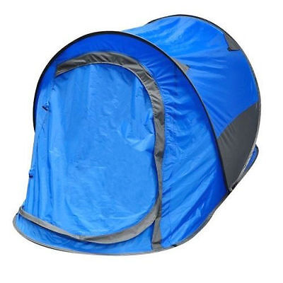Kingfisher Pop Up Tent 2 Man - Camping / Festival Shelter POP