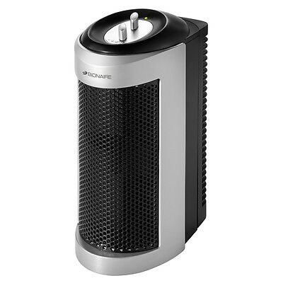 Bionaire 99.99% True HEPA Mini Tower Air Purifier w/ Allergy Filter BAP706BSC-CN