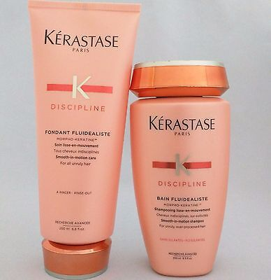 Set KERASTASE Fluidealiste No-Sulfates Shampoo + Conditioner Duo for Unruly Hair