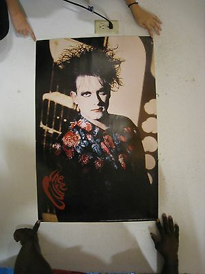 The Cure Poster Robert Smith Flower Shirt
