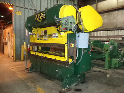 Verson Model 2078-50 Versa-Matic, 2 Speed 50 Ton, 8' X 12 GA Press Brake