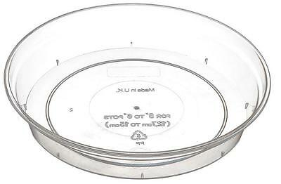 ORCHID SAUCER Clear Saucer For Orchid Pots From 11cm to  18.5cm*