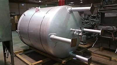1000 Gal Perry Jacketed Mix Tank