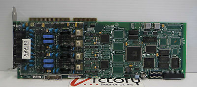 Used Dialogic D/41E (SC) 4-Port ISA Voice Card, 85-0552-003
