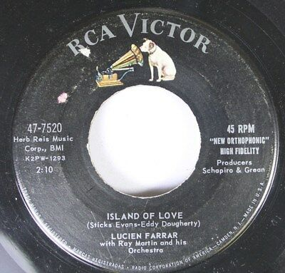 50'S & 60'S 45 Lucien Farrar - Island Of Love / Let'S Make The Most Of A Beautif