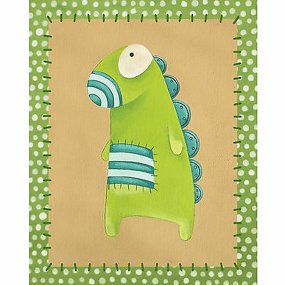 Baby Nursery Art Print Baby Monster Wall Decor Poster Kids Bedroom Poster 8x10""