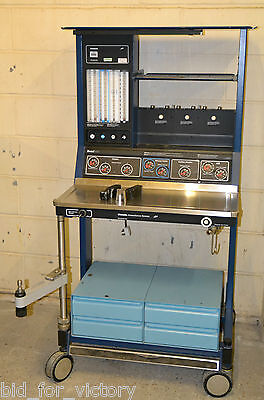 Ohmeda Excel 410 ISO Operating Anaesthesia Anaesthetic Anesthetic Trolley System