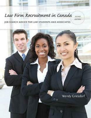 Law Firm Recruitment in Canada: Job Search Advice for Law Students and Associate