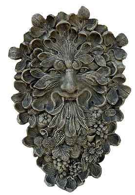 Green Man Plaque in Moss Finish [ID 83593]