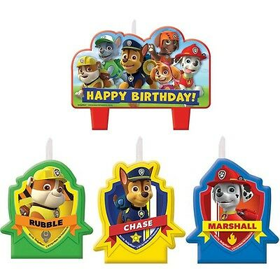 Party Supplies Birthday Decorations Boys Paw Patrol Candle Set