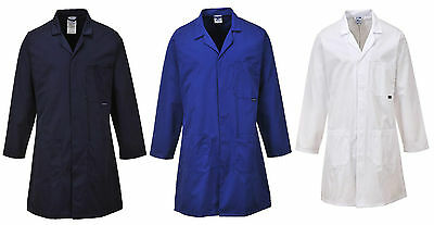 Portwest C852 Standard Laboratory Laundry Warehouse Engineers Overall Work Coat