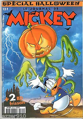 LE JOURNAL DE MICKEY n°2523 ¤ 2000 ¤ AVEC SUPPLEMENT CADEAU MASQUE D'HALLOWEEN