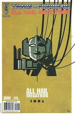 The Transformers - All Hail Megatron - Issue # 14 Retail Incentive - (NM) (1228)