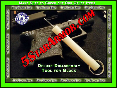 DELUXE Armorer Disassembly Takedown Tool for ALL Glock Models TAKE DOWN TOOL