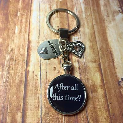 "Harry Potter keyring ""After all this time?"" and ""Always"" keyring FREE P&P"