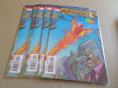 Human Torch #10 (Marvel 2004) Wholesale Lot of 5 issues Free Domestic Shipping