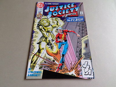 Justice Socirty of America #1 (DC 1991) Free Domestic Shipping