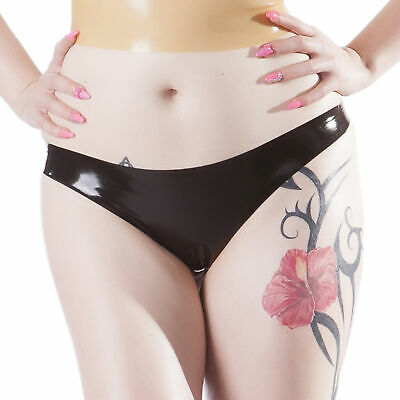 Rubberfashion Latex String, Latexstring Tanga Slip Oberfläche