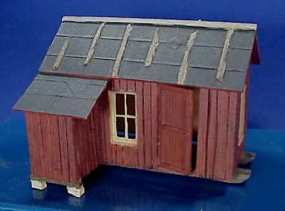 O/On3/On30 WISEMAN MODEL SERVICES LOGGING OR MINING CAMP CABIN STYLE 1