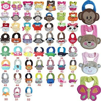 Baby Newborn Cozy Cute Lunch Bibs Infant Kid Cartoon Saliva Towel Waterproof Bib
