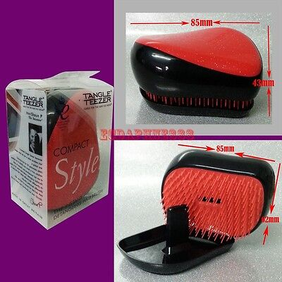 COMPACT Styler - THE INSTANT DETANGLING HAIR BRUSH Charming Red