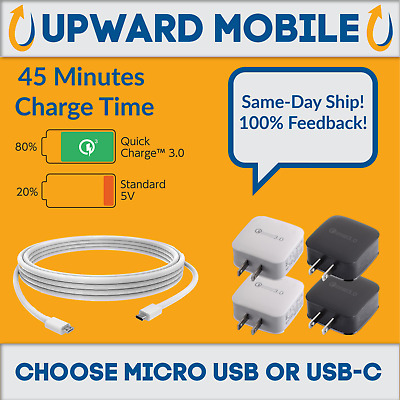 New Samsung Galaxy Note 4 5 Edge S6 S7 Edge S8 Plus Adaptive Fast Charger