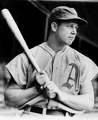 JIMMIE FOXX PHILIDELPHIA  A/' S YOUNG SLUGGER IN THIS CLASSSIC PORTRAIT 8x11