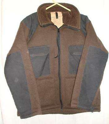 Shirt Cold Weather Synthetic Fiber Pile Brown Large Used $19.98