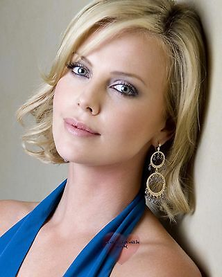 8X10 GLOSSY PHOTO PICTURE IMAGE ct124 Charlize Theron