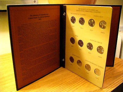 Complete 2009 DC & Territorial P & D Quarter Set in Dansco Album BU / MS