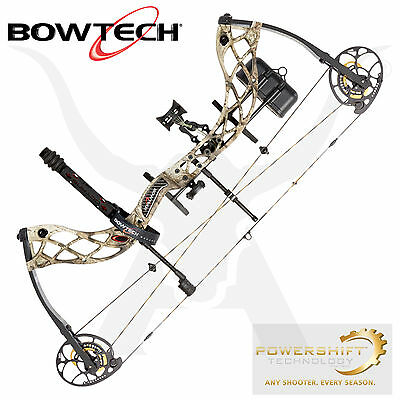 BowTech Carbon Icon - R.A.K Equipped - Mossy Oak Break Up Country Camo - RH