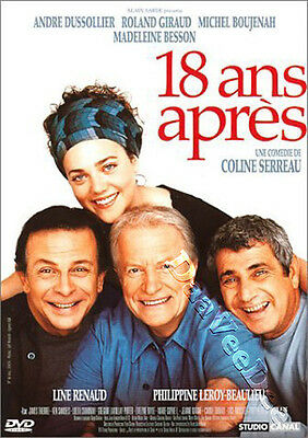 18 Years Later NEW PAL Cult DVD Coline Serreau A. Dussollier R. Giraud France
