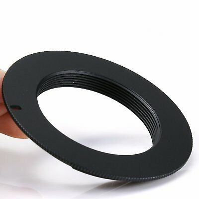M42 lens to Canon EOS EF Mount Adapter Ring black 5D II III 6D 7D 70D 650D 700D