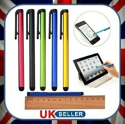 5x Universal Capacitive Stylus Touchscreen Pen For All Touch Screen Devices