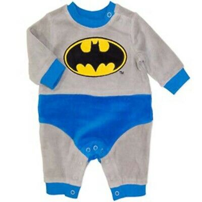 Batman Baby - All in One - Cotton - Genuine Licensed - FAST 'N' FREE Postage