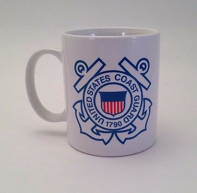 United States Coast Guard 1790 Mug Cup White Collectable Military Ship USCG