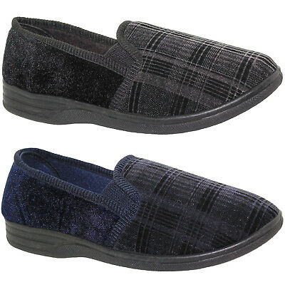 New Mens Quality Moccasins Slippers Loafers Faux Suede Winter Shoes Size 6-12 Uk