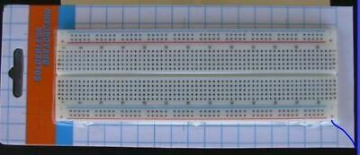 FCB*USA 2x 830-pt Breadboard with 3 power post from Michigan USA  *LARGE