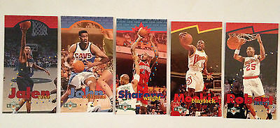 Lot 5 Cartes De Basket Nba Upper Deck 1995 Nba Jam Session