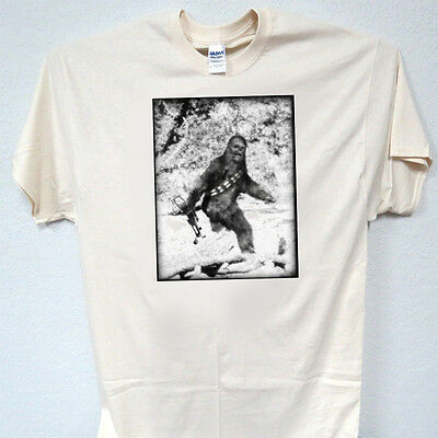 """STAR WARS Bigfoot """"Chewbacca"""" Inspired, COOL T-SHIRT, SIZE: S to 5XLX, T-804Ivy"""