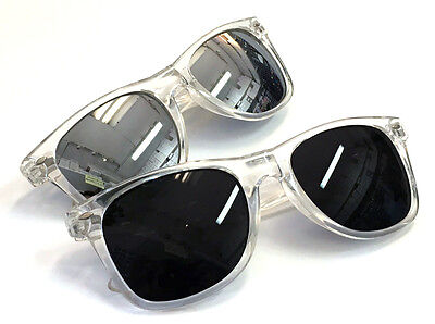 Wholesale Lots 12 Pairs Wayfarer Glasses With Crystal Frame