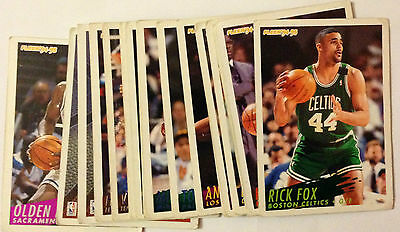 Lot 17 Cartes De Basket Nba Fleer 94-95