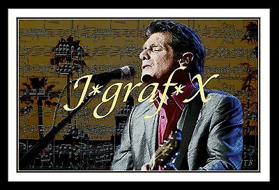 Glenn Frey - Eagles - Hotel California - Portrait Poster - Really Cool Artwork!!
